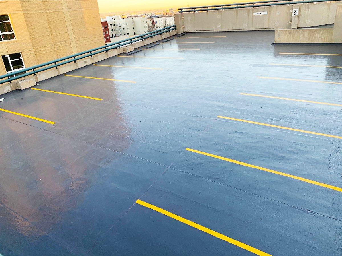 parking garage floor coating